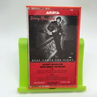 Barry Manilow Cassette Tape Here Comes the Night, 1982 Arista, Very Good