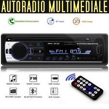 Autoradio con schermo Autoradio bluetooth vivavoce USB AUX Radio FM Lettore MP3