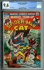 MARVEL TEAM-UP #8 CGC 9.6 WHITE PAGES // 1ST APPEARANCE MAN-KILLER 197 ID: 30493