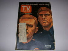 Vintage TV GUIDE, August 4-10, 1973, MARTIN MILNER, KENT MCCORD OF ADAM-12!