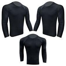 Prime Rash Guard Vest Mma Running Grappling Ufc Top T Shirt Mens Boxing Black