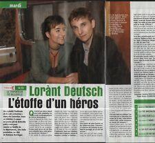 Coupure de presse Clipping 2005 Lorànt Deutsch  (1 page 1/2)