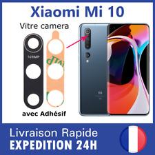 Pour Xiaomi Mi 10 vitre lentille arrière appareil photo camera lens cover verre