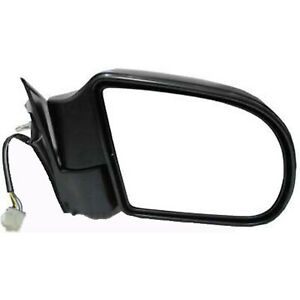 GM1321192 Right Side Power Foldaway Heated Glass Textured Black Door Mirror