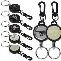 Hot Heavy Duty Retractable Pull Reel Badge Key Chain Belt Clip ID Card Holder