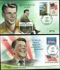 2004 - Bevil Matched Set of 2 - Ronald Reagan - Day of State Funeral