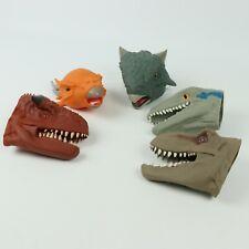 2018 Hoogvliet x Jurassic World Grocery Store Hand Puppet Prizes x5 Bundle RARE
