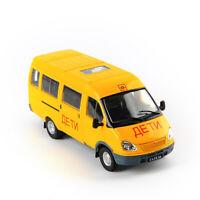 DeAGOSTINI 1/43 FA3-322121 Diecast Russian Car GAZ School Bus Business Car Model