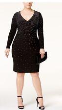 INC International Concepts Plus Size Rhinestone Bodycon Dress. Size 18W. $159.50