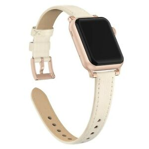 Leather Modern Style Design Band for Apple Watch Series 6, 5, 4, 3, 2,1 38/40mm