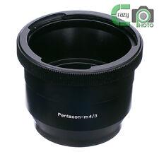 P60-M4/3 Pentacon 6 Kiev 60 Lens to Micro 4/3 M43 Adapter E-PL7 OM-D GH4 G7 MFT