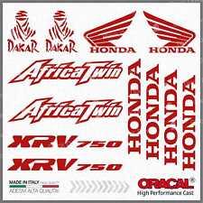 12x Kit HONDA Africa Twin XRV 750 Red ADESIVI PEGATINA STICKERS AUTOCOLLANT