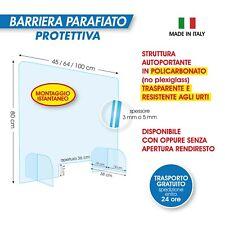 Barriera Protettiva [In Policarbonato/Plexiglass] Con e senza Foro Rendiresto
