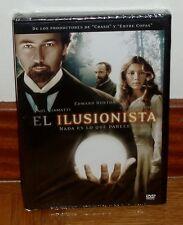 EL ILUSIONISTA - DVD - NUEVO - PRECINTADO - EDWARD NORTON - JESSICA BIEL - DRAMA