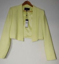 Dry-clean Only Solid Regular Size Coats, Jackets & Vests for Women