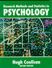 RESEARCH METHODS AND STATISTICS IN PSYCHOLOGY., Coolican, Hugh. | Paperback Book
