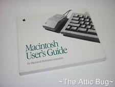 Apple Macintosh User's Guide) ~ per Macintosh PERFOMA Computer ~ BOOK