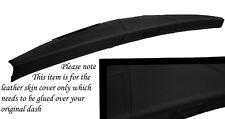 BLACK STITCH FITS MINI CLASSIC ROVER COPPER AUSTIN DASH LEATHER COVER ONLY