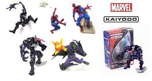 Marvel Figures . . . Spiderman Kaiyodo Vignette ultimate Japan set spidder man