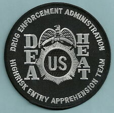 DEA HEAT HIGHRISK ENTRY APPREHENSION TEAM POLICE PATCH