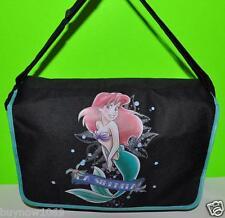 LITTLE MERMAID ARIEL MESSENGER BAG/TOTE/BACKPACK DISNEY backpack princess BLACK