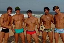 Shirtless Male Beefcake Beach Hunks Speedo Jocks Muscle Guys PHOTO 4X6 P1767****
