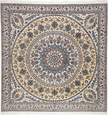 Nain Teppich Orientteppich Rug Carpet Tapis Tapijt Tappeto Alfombra Quadratisch