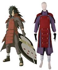 Naruto Shippuden Uchiha Madara 4th Ninja War Edo Tensei Figting Cosplay Costume