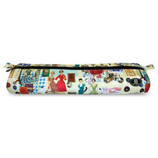 Knitting Needle Case Storage Roll, Accessories Sewing Needle Bag in Retro