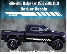 2009 2010 2011 2012 2013 2014 2015 Dodge Ram Rocker Stripe Vinyl Decal Graphic