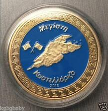 Greek Megisti Kastellorizo (Island)~Gold Plated Collectable-Limited-C.O.A.incl