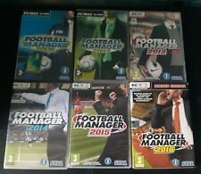 Football Manager PC Bundle (2006 2007 2012 2014 2015 2016) All Complete Joblot