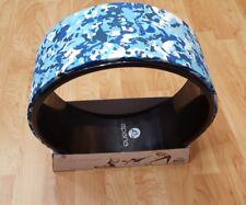 "APANA 12"" YOGA WHEEL BLUE Camo PRINT STYLE # FLY269 NEW 12 inch"
