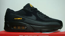 MENS NIKE AIR MAX 90 BLACK YELLOW ACCENTS TRAINER NEW BOXED UK SIZES 6-11