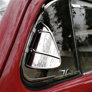 Breezies Wind Deflectors for classic car vw mini jaguar beetle STEEL AAC252S/S