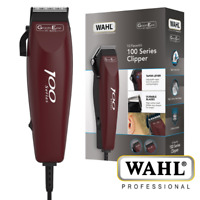 WAHL 100 SERIES 10-PIECE HAIR CUTTING KIT MENS CLIPPER TRIMMER - 79233-1017