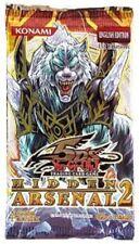 YUGIOH TCG Hidden Arsenal 2, 1st Edition English Booster Pack
