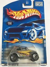 Hot Wheels 2001 Collector 174 Baja Bug Silver Scale 1:64 New