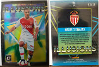 2018-19 Panini Donruss Soccer - Illusions Gold /10 - Youri TIELEMANS (AS Monaco)
