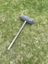 Very Large Rubber Mallet Paving Mallet Strongman