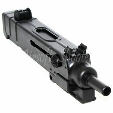 Airsoft Parts Upper Body with Outer Barrel 4 Slots Rail For R2 VZ61 Scorpion AEP