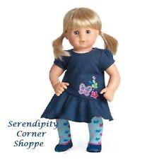 American Girl Bitty Twin Blonde Hair Blue Eyes Girl New - No box top