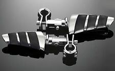 HIGHWAY PEGS /CRUISE PEGS & 1-1/4 inch (32mm) 3 PIECE CLAMPS: (73-498 & 68-172)