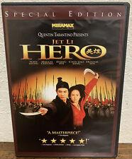 Quentin Tarantino Hero With Jet Li