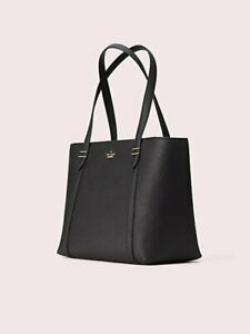 New Kate spade new york Leather Tote Black