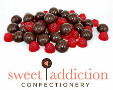 8kg Dark Chocolate Covered Raspberries - Raspberry Party Choc AUSTRALIAN MADE