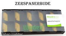 10 Wendeplatten KNUX 160410SR-12 WOG4235 WODEX Universal einsetzbar