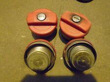 PORSCHE 944  FUEL FILLER CAP 944 locking fuel filler Flap No Key 1 X 4