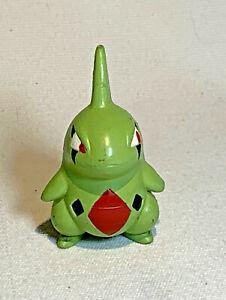 Vintage Larvitar Pokemon TOMY CGTSJ Small Plastic Figure / Toy
