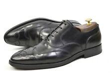 BALLY made in Switzerland UK10E / US11D   shoes wing tip Goodyear Scribe oxford
